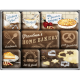 Set de 9 magnets : Home Bakery
