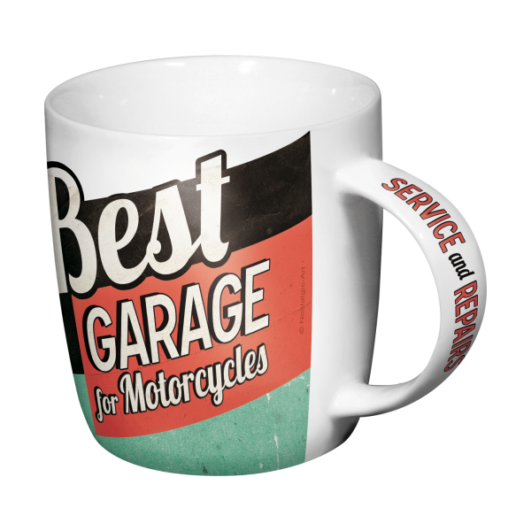 tasse caf coffee mug best garage moto pin up. Black Bedroom Furniture Sets. Home Design Ideas
