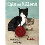Magnet 8 x 6 cm Chats et chatons