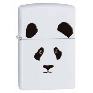 briquet essence zippo t te de panda deco envie com. Black Bedroom Furniture Sets. Home Design Ideas
