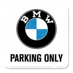 Sous-verre BMW Parking Only