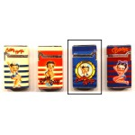 Briquet Betty Boop décor marin rouge et blanc