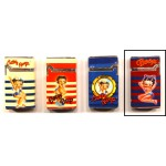 Briquet Betty Boop décor marin hublot