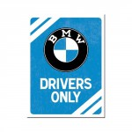 Magnet 8 x 6 cm BMW Drivers only