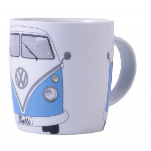 tasse caf coffee mug vw volkswagen t1 bulli bleu ciel. Black Bedroom Furniture Sets. Home Design Ideas