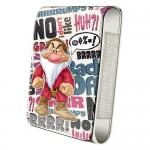 Housse téléphone portable à rabat Disney : Grincheux fâché (Grumpy)