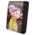 Housse téléphone portable à rabat Disney : Simplet Kiss
