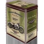 Boîte en métal rectangulaire : Harley-Davidson Knucklehead