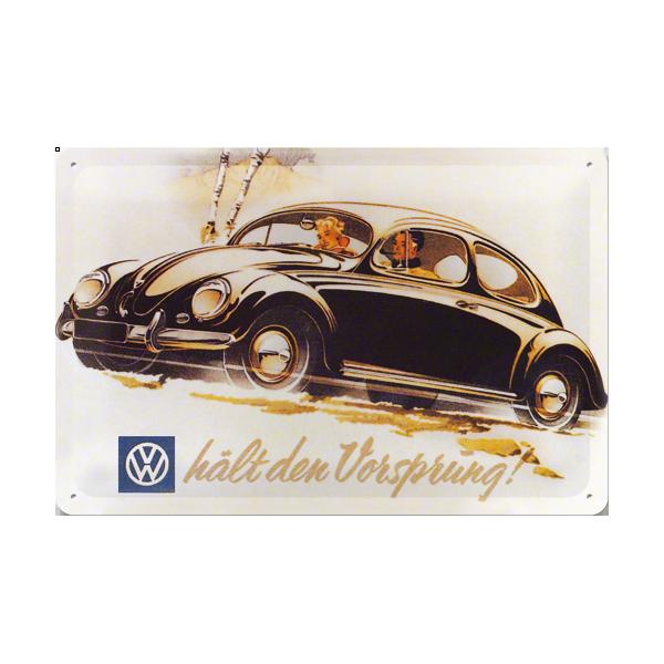 plaque en m tal 20 x 30 cm volkswagen coccinelle deco envie com. Black Bedroom Furniture Sets. Home Design Ideas