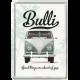 Magnet 8 x 6 cm VW Volkswagen T1 Bulli Vintage Retro