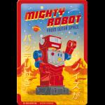 Plaque en métal 20 X 30 cm : Robot