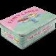 Boîte en métal plate Vintage : Fairy cakes (petits gâteaux)