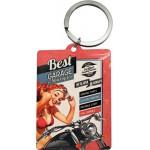 Porte-clés Best Garage - Moto - Harley-Davidson