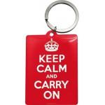 Porte-clés Keep Calm and carry on