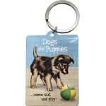 Porte-clés Dogs and puppies - Chiens et chiots
