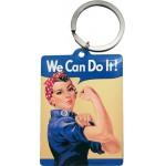 Porte-clés : We can do it