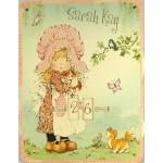 Calendrier perpétuel cartonné : Sarah Kay au jardin