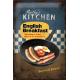 Plaque en métal 20 X 30 cm English Breakfast