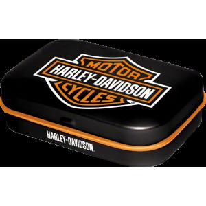 Boîte à pilules Harley-Davidson : logo de la marque