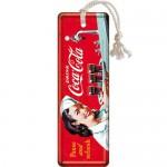 Marque-pages en métal : Coca-Cola Serveuse Vintage