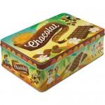 Boîte en métal plate Vintage : Chocolat