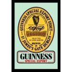 Cadre miroir bière Guinness