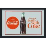 Cadre miroir vintage Coca-Cola