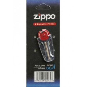 Pierres (6 pièces) pour briquet essence Zippo