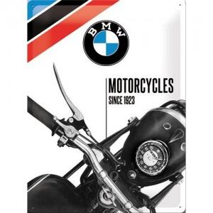 Plaque en métal 30 X 40 cm BMW depuis 1923