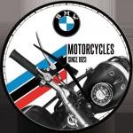 Horloge murale vintage : BMW MOTO depuis 1923