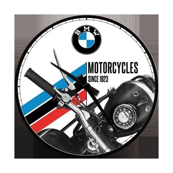 Horloge Murale Vintage Bmw Moto Depuis 1923 Deco Envie Com