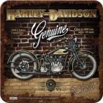 Sous-verre Harley-Davidson 1933 V-Twins Y-Manifold