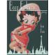 Magnet 8 x 6 cm Betty Boop : Fashion à Paris