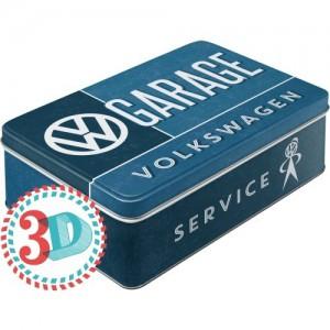 Boîte en métal plate VW Volkswagen Garage