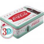 Boîte en métal plate Coca-Cola Ice Cold