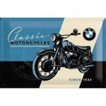 Plaque en métal 20 X 30 cm : BMW Classic Motorcycles