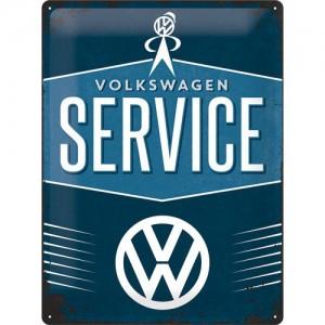 Plaque en métal 30 X 40 cm VW Volkswagen Service (garage)