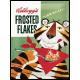 Plaque en métal 30 X 40 cm Kellogg's : Frosted flakes avec le tigre