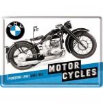 Plaque en métal 14 X 10 cm BMW R17 1935