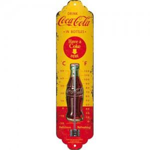 Thermomètre : Coca-Cola publicité Vintage