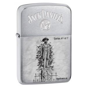 Briquet essence Zippo Jack Daniel's Scene of Lynchburg N°1 série limitée à 7777 pcs