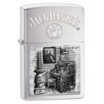 Briquet essence Zippo Jack Daniel's Scene of Lynchburg N°4 série limitée à 4777 pcs