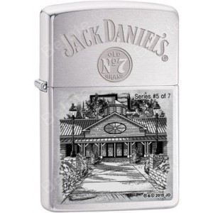 Briquet essence Zippo Jack Daniel's Scene of Lynchburg N°5 série limitée à 4777 pcs
