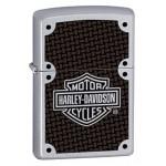 Briquet essence Zippo Harley-Davidson Carbone et Chrome