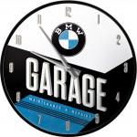 Horloge murale vintage : Garage BMW