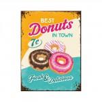 Magnet 8 x 6 cm Publicité pour de délicieux donuts