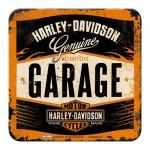 Sous-verre Harley-Davidson Garage