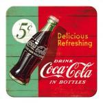 Sous-verre Publicité vintage Coca-Cola