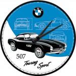 Horloge murale vintage : BMW 507 Touring Sport