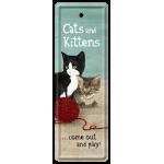 Marque-pages en métal Chats et chatons